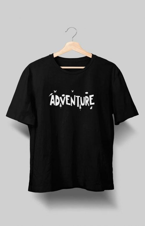 Adventure T shirt Black