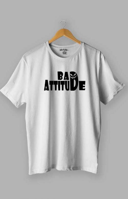 Bad Attitude T shirt White