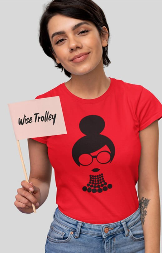 Graphic T Shirts Women Red