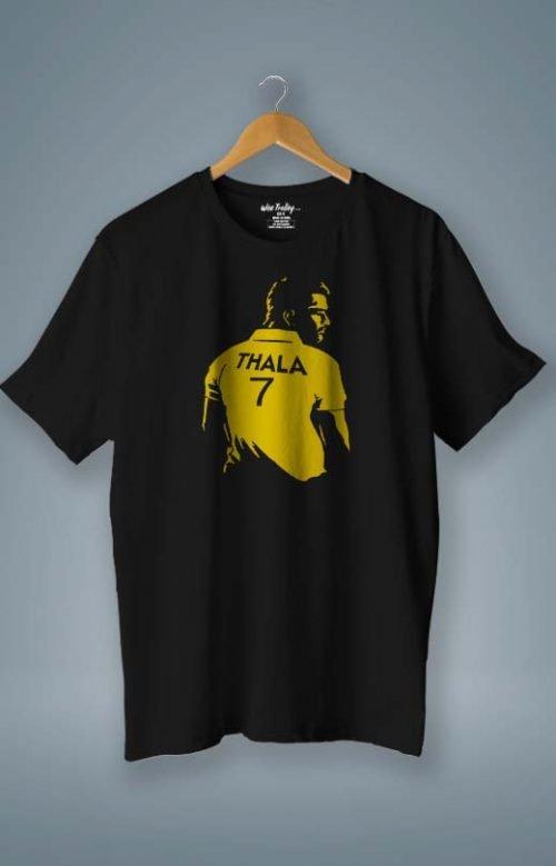 Thala T shirt Black