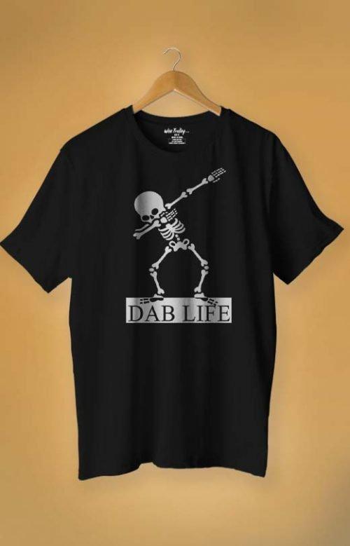 Dab Life T Shirt For Man Black