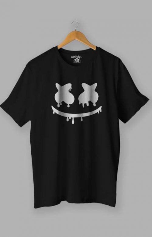 Marshmello T shirt for Men Black