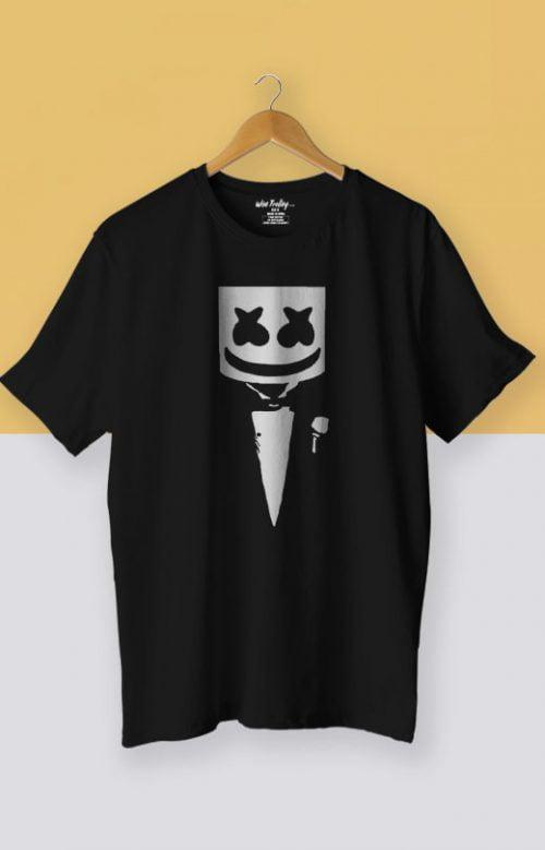 Marshmello Fan T shirt Black