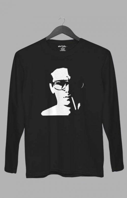 Bad Attitude Full Sleeve T shirt Black