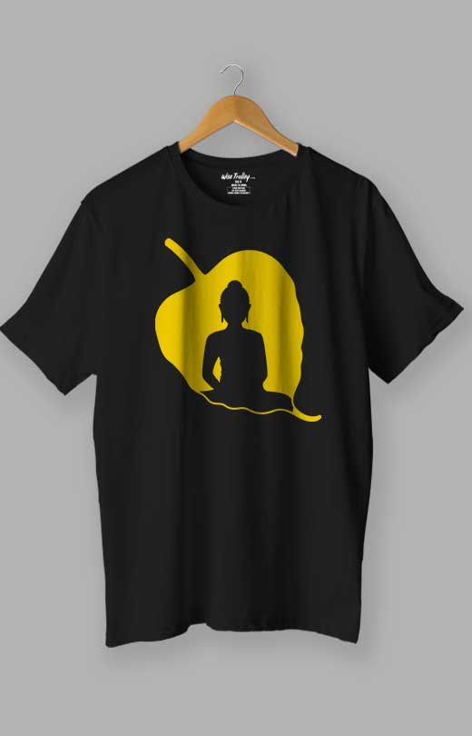 Buddha T shirt Black