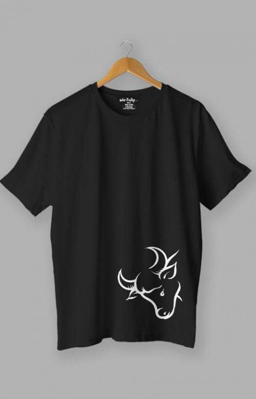 Bull T shirt Black