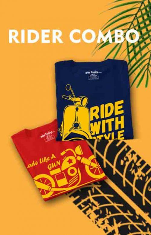 Custom Biker T-shirts Combo Pack