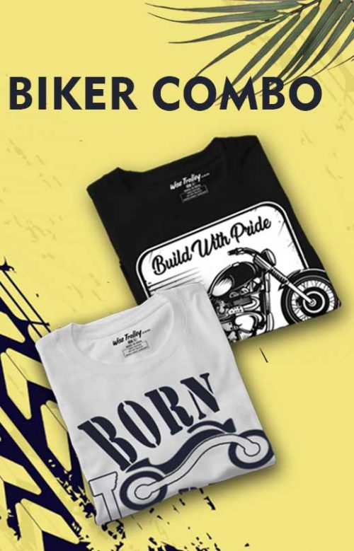 Custom Biker T-shirts Combo Pack for Men