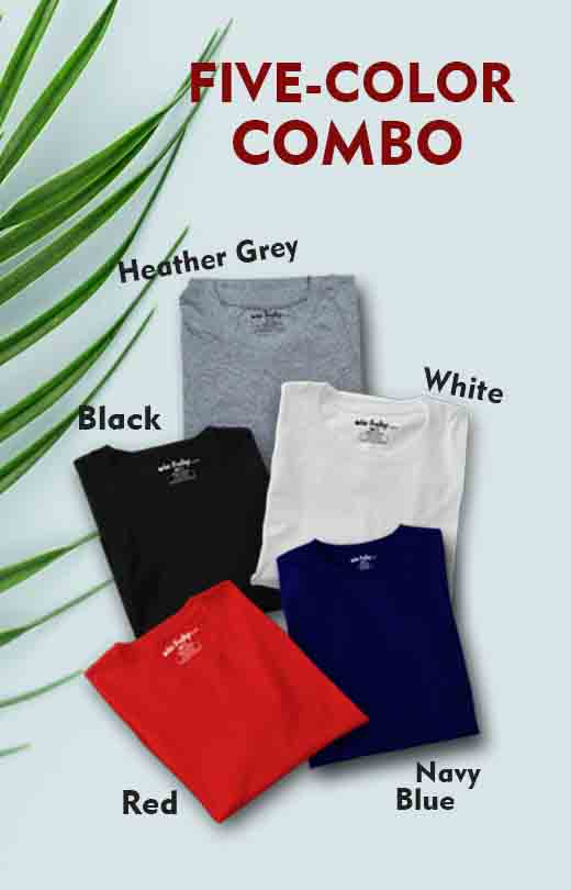 Five Color Combo Pack