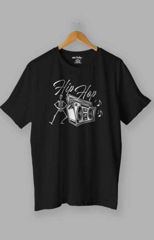 Hip Hop Dance T shirt Black