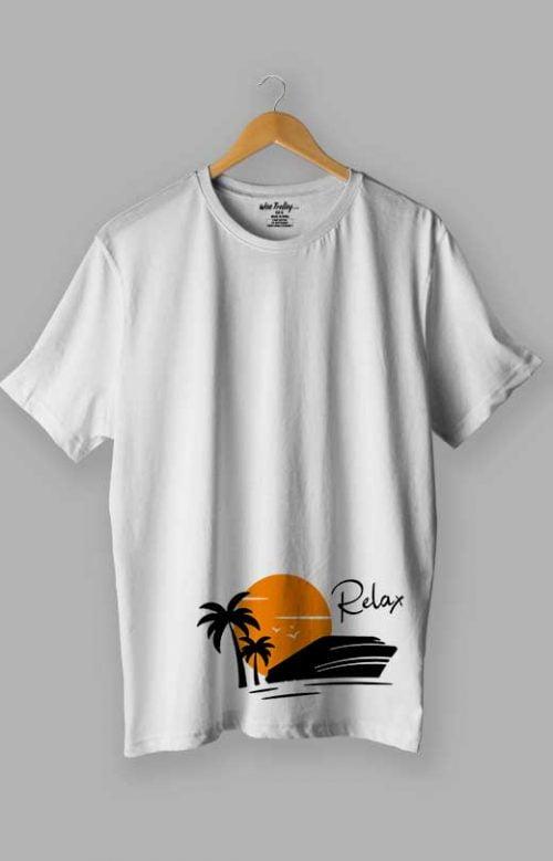 Relax T shirt White
