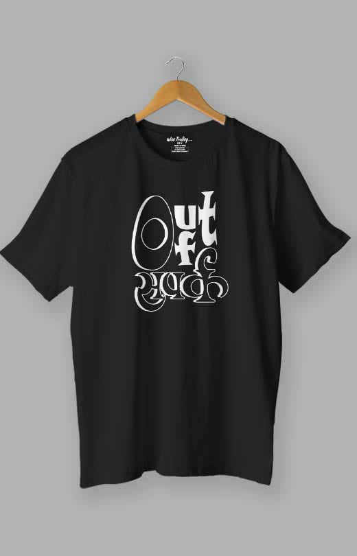 Out of Sampark Humour T shirt Black