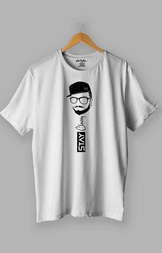 Stay Classy T shirt White