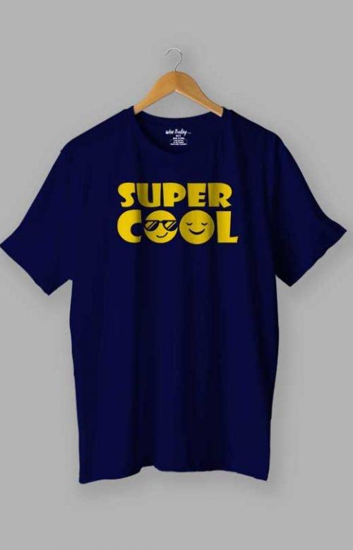 Super Cool T shirts Blue