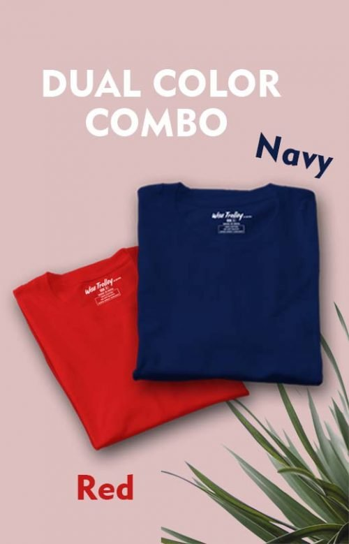 T Shirt Combo Pack of Two