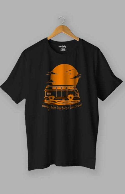 Travelling T shirt Black