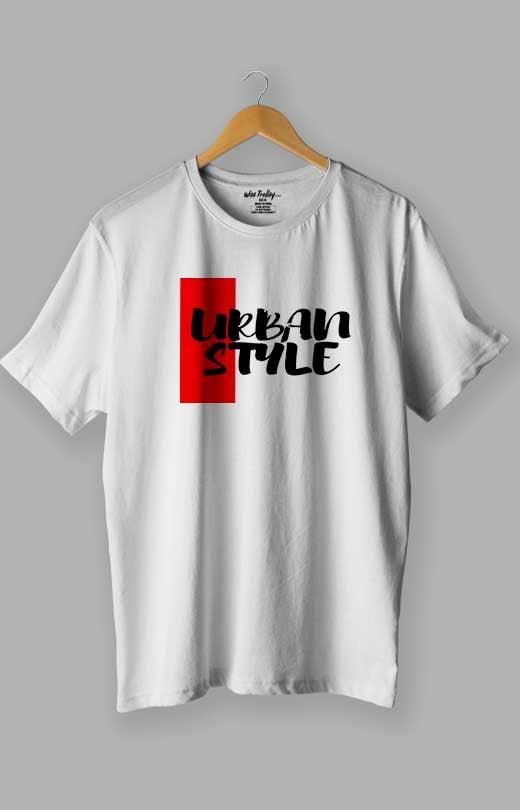 Urban Style T shirts White