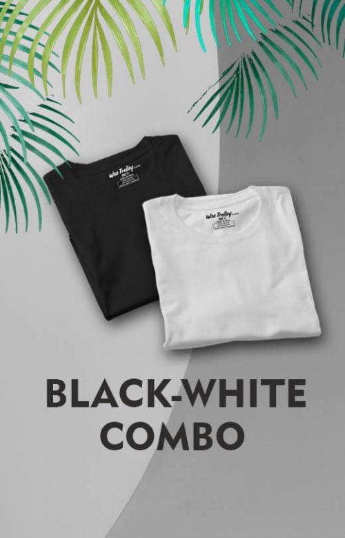 black white combo