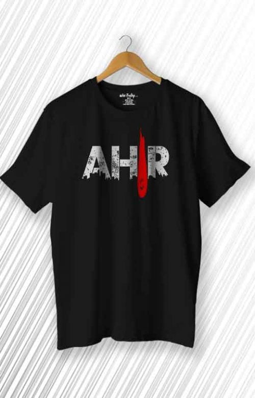 Ahir T shirt Black