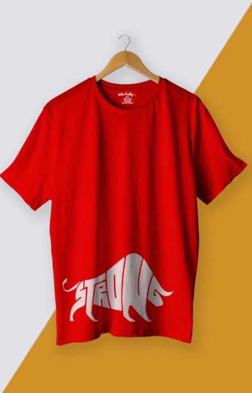 Strong T shirt Red
