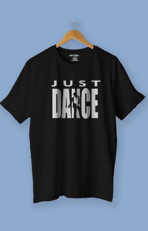 Just Dance T shirt Black