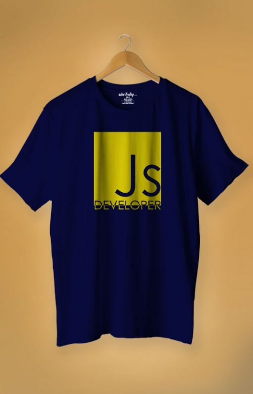 Java Developer T-shirt Blue