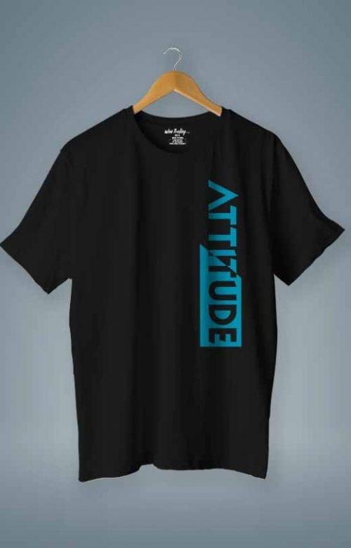 Attitude T shirt Black
