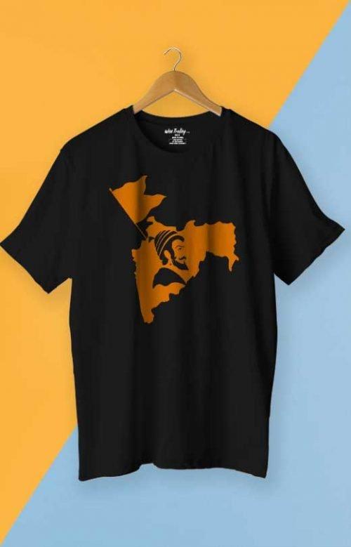 Maharashtra T shirt Black