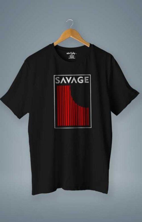 Savage T shirt Black