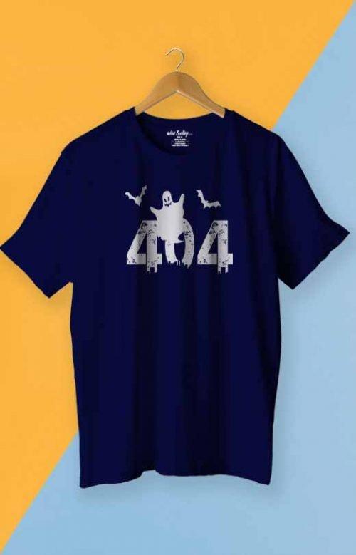 404 T shirt Blue