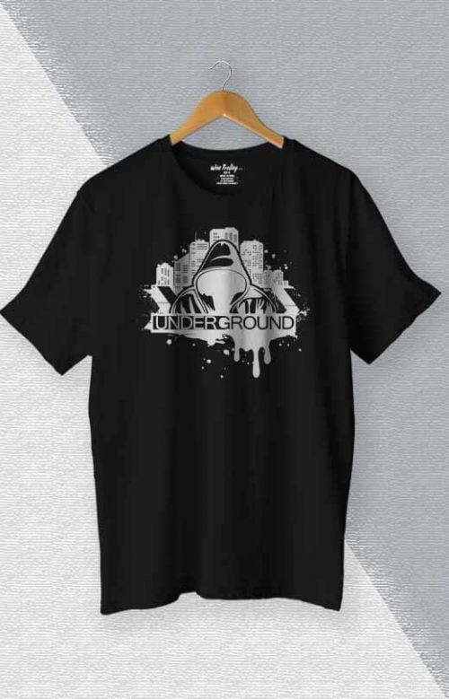 Underground T shirt Black